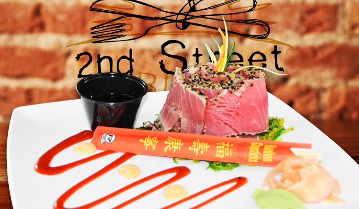 Ahi Tuna Dinner - 2nd Street Bistro