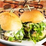 Black and Bleu Sliders - 2nd Street Bistro