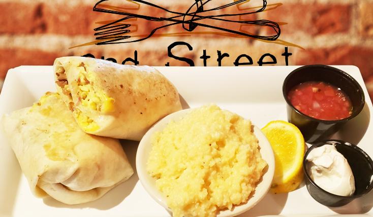 Breakfast Buritto - 2nd Street Bistro Restaurant FL