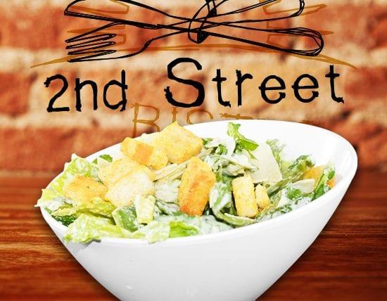 Caesar Salad Small 2nd Street Bistro