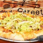 2nd Street Bistro Cheeseburger Pizza