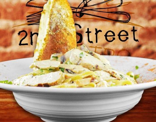 Chicken Alfredo - 2nd Street Bistro
