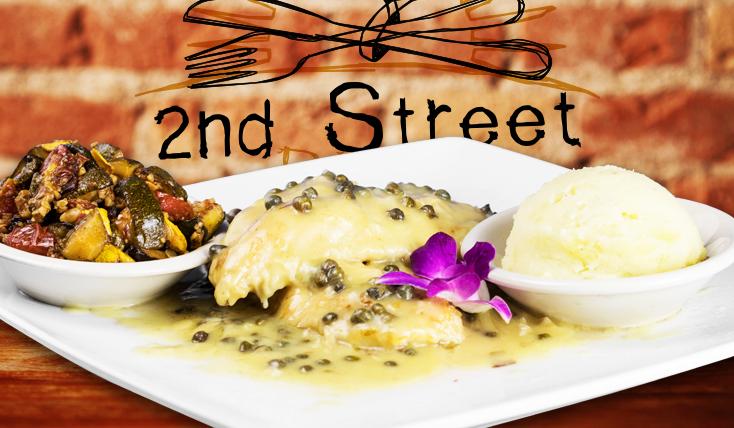 Chicken Picatta - 2nd Street Bistro