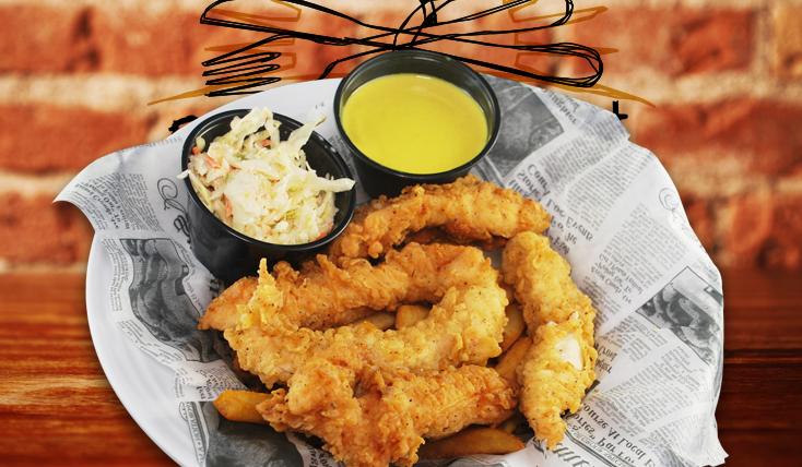 Chicken Tenders real food 2nd Street Bistro