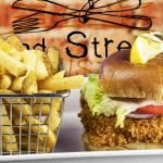 Fish Sandwich 2nd Street Bistro Downtown Fort Pierce