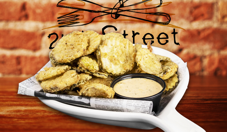 Fried Pickles - 2nd Street Bistro Restaurant FL