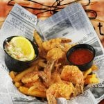 2nd Street Bistro Fried Shrimp