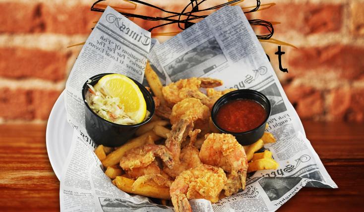 2nd Street Bistro Fried Shrimp