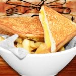 2nd Street Bistro Delicious menu Grilled Cheese