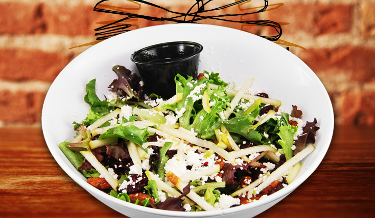 2nd Street Bistro House Salad Large
