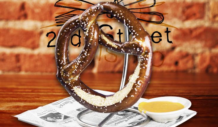 Jumbo Pretzel - 2nd Street Bistro Restaurant FL