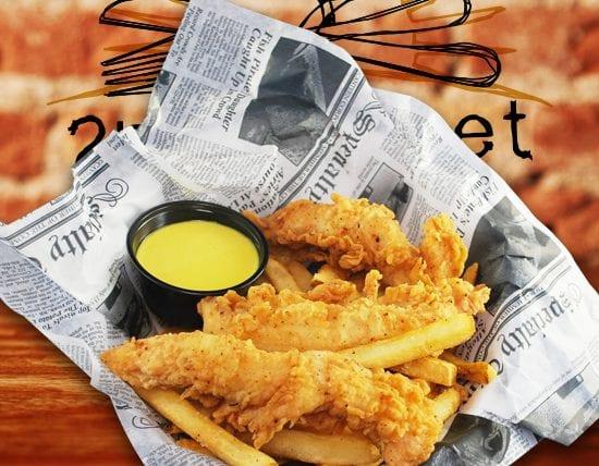 Kids Chicken Fingers and Fries - 2nd Street Bistro Menu
