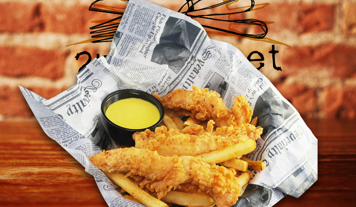 Kids Chicken Fingers and Fries - 2nd Street Bistro Menu