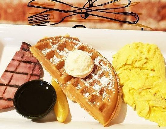 Kids Waffle - Kids, Brunch, & Dessert Menus