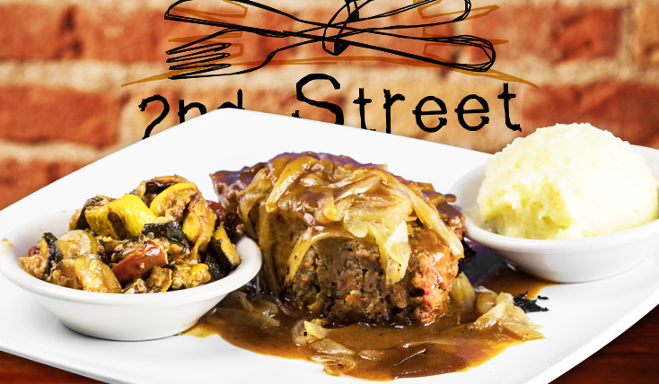 Meat Loaf Dinner - 2nd Street Bistro