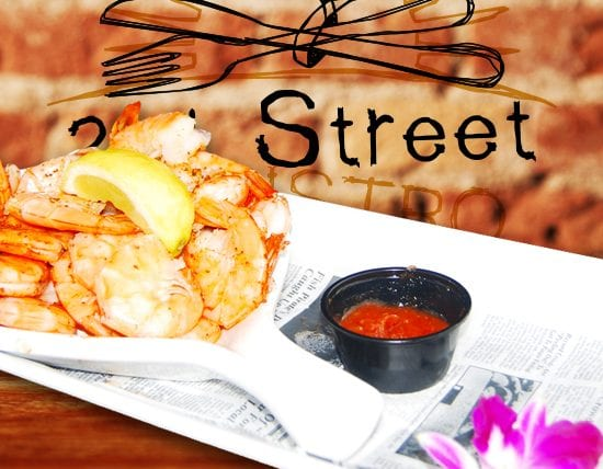 Peel and Eat Shrimp - 2nd Street Bistro Restaurant FL