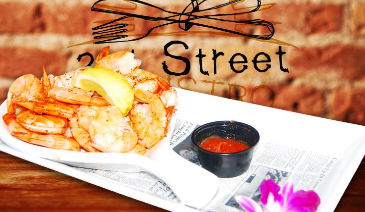 Peel and Eat Shrimp - 2nd Street Bistro Restaurant FL