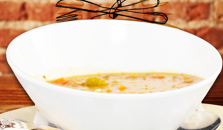 Soup of the Day Bowl Water View Restaurant