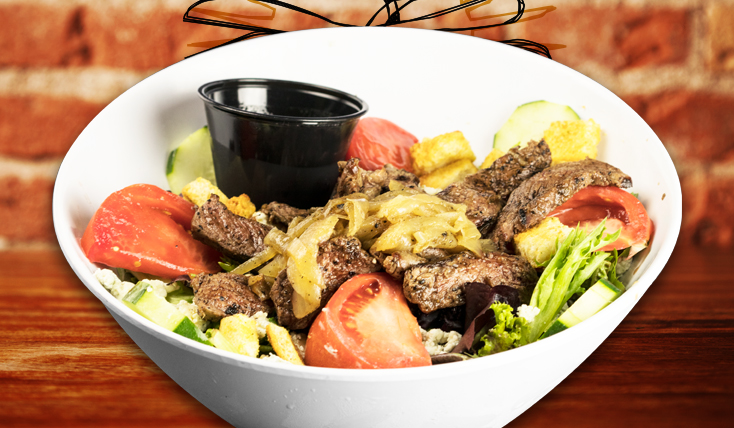 Delicious Steak Salad