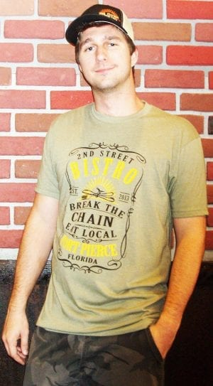 Bistro Cotten Mens Short Sleeve T-Shirt