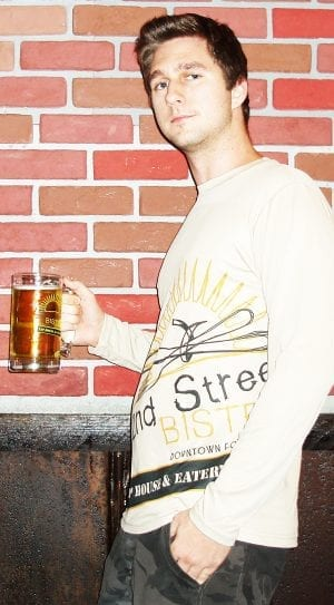 Bistro Logo Dry Fit Mens T-Shirt Long Sleeve