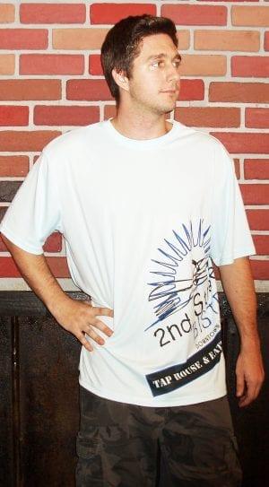 Bistro Logo Dry Fit Mens T-Shirt Short Sleve