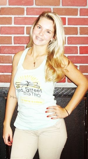 Bistro Logo Womens Cotten Tank Top