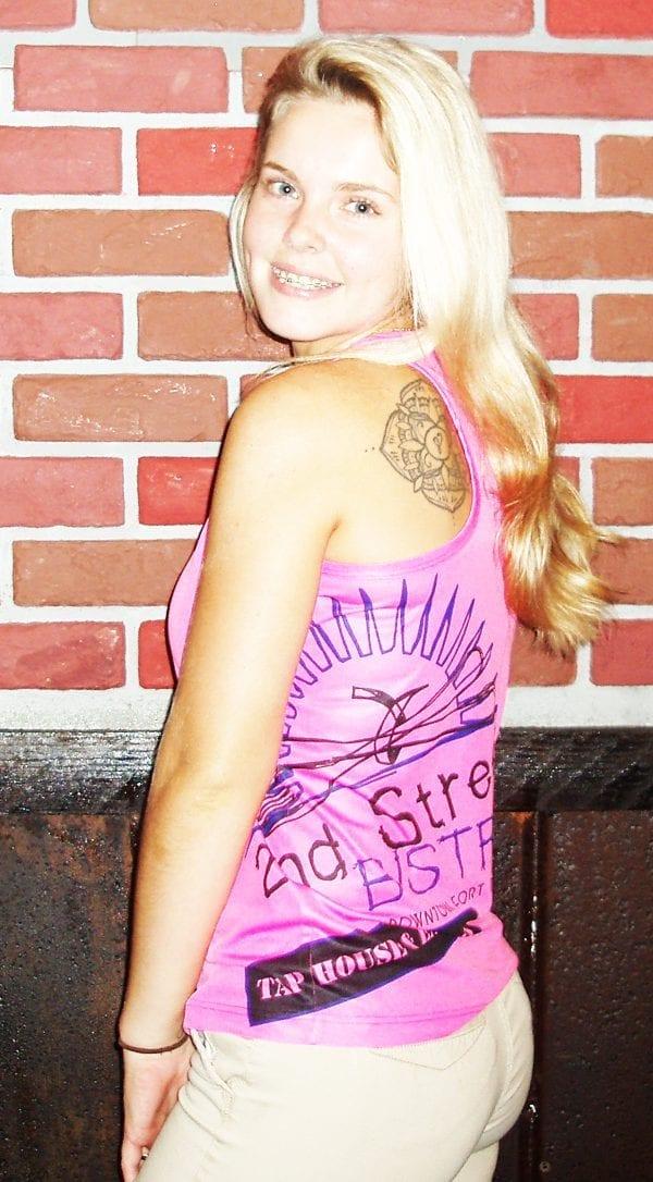 Bistro Logo Womens Cotten Tank Top